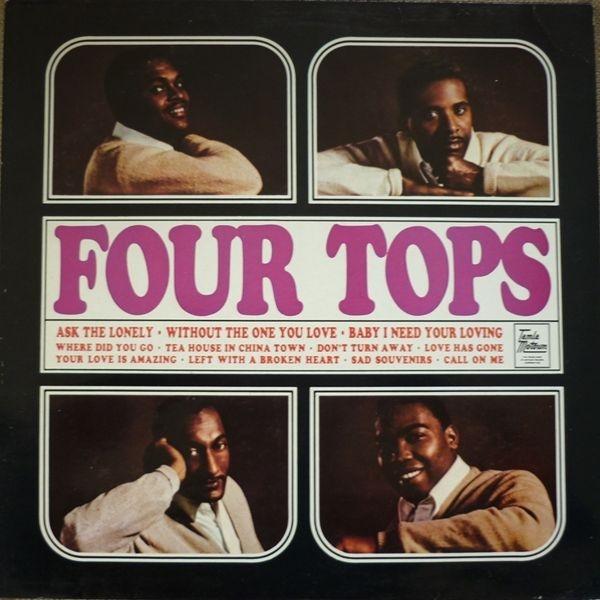 Vinil Four Tops-Four Tops (180g Audiophile Pressing)-LP 0