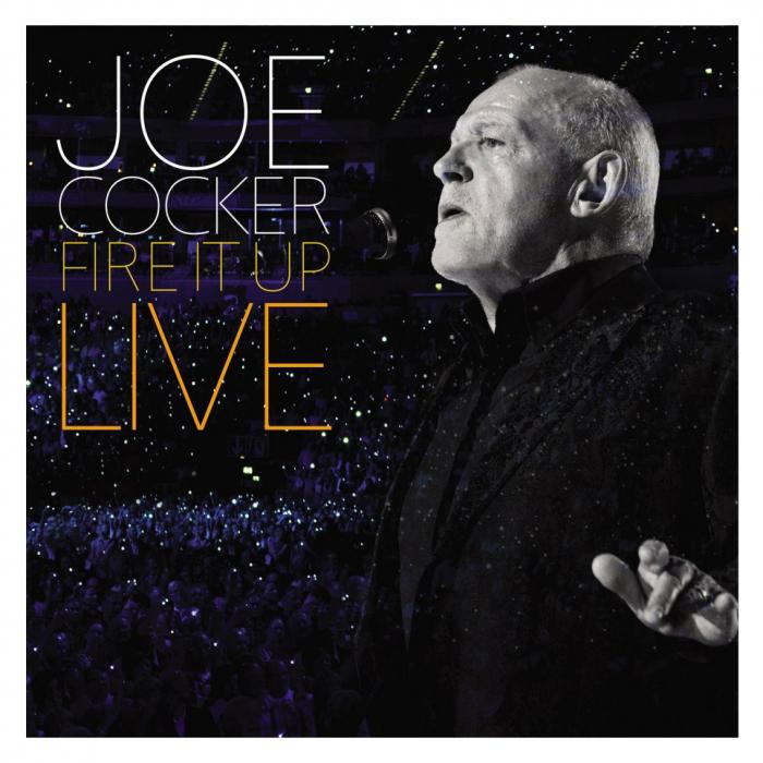 Vinil Joe Cocker-Fire It Up - Live (Coloured vinyl) (180g Audiophile Pressing)-3LP 0