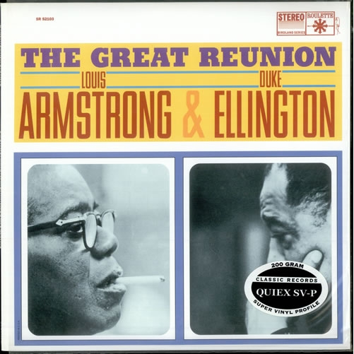 Vinil Louis Armstrong /Duke Ellington-The Great Reunion-LP 0