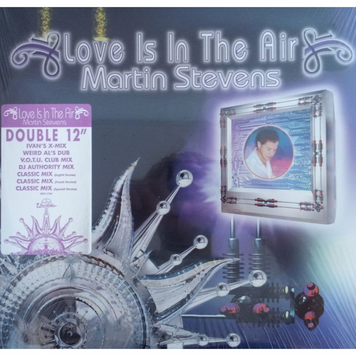 Vinil Martin Stevens-Love Is In The Air (Super Disco Hit !)-2Maxi Vinyl 0
