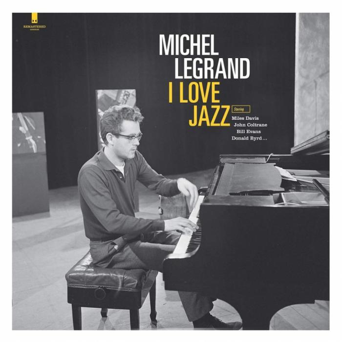 Vinil Michel Legrand-I Love Jazz (180g Audiophile Pressing)-LP 0
