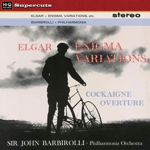 Vinil Sir John Barbirolli, Philharmonica Orchestra-Enigma Variations -Cockaigne Overture (180g Audiophile Pressing)-Edward Elgar-LP 0