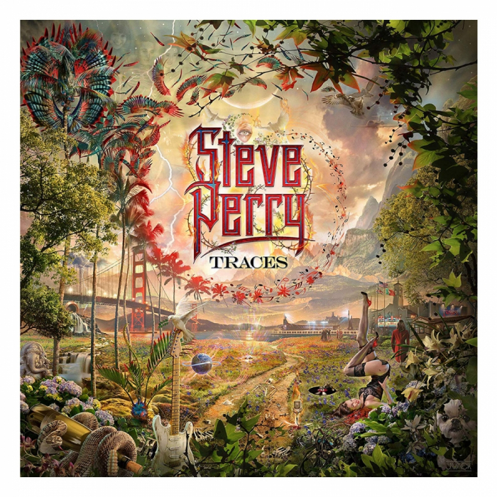 Vinil Steve Perry (from Journey)-Traces (Limited Deluxe Lenticular cover)-2LP 0