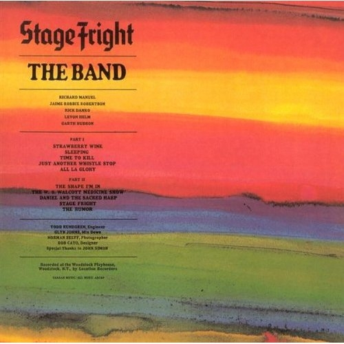Vinil The Band-Stage Fright-LP 0