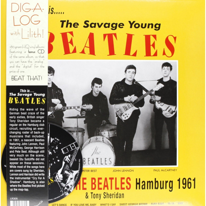 Vinil The Beatles with Tony Sheridan-This Is...The Savage Young Beatles-LP+CD 0