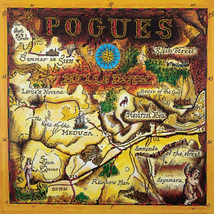 Vinil The Pogues-Hell's Ditch (180g Audiophile Pressing)-LP 0
