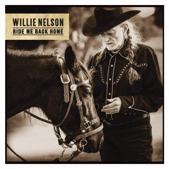 Vinil Willie Nelson (from The Highwaymen)-Ride Me Back Home (180g Audiophile Pressing)-LP 0
