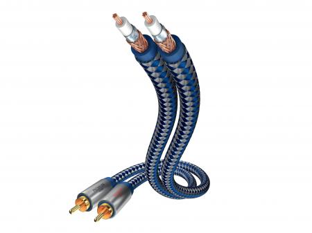 Cablu Interconect Inakustik Premium 0.75m0