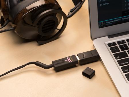 Amplificator de casti si DAC AudioQuest DragonFly Black2