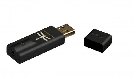 Amplificator de casti si DAC AudioQuest DragonFly Black0