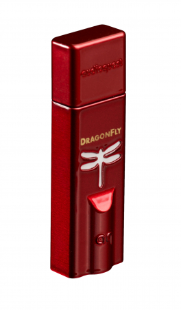 Amplificator de casti si DAC AudioQuest DragonFly Red1
