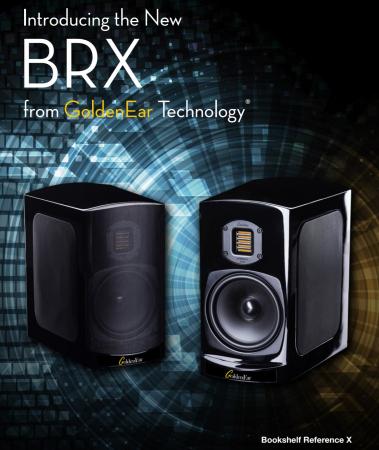 Boxe de raft High-End GoldenEar  BRX (Bookshelf Reference X), 40Hz-35kHz, eficienta 90dB1