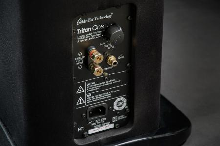 Boxe podea GoldenEar TRITON ONE cu subwoofer activ incorporat, 14Hz - 35kHz, 92dB3