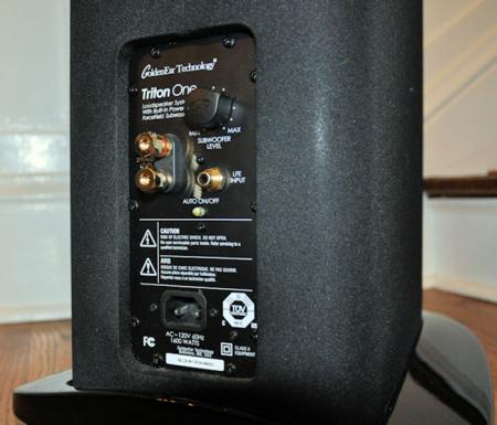 Boxe podea GoldenEar TRITON ONE cu subwoofer activ incorporat, 14Hz - 35kHz, 92dB5
