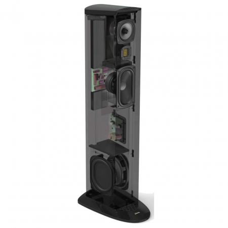 Boxe podea GoldenEar TRITON THREE+ cu subwoofer activ incorporat, 21Hz - 35kHz, 90dB [3]