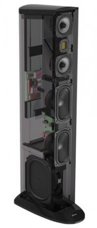 Boxe podea GoldenEar TRITON TWO+ cu subwoofer activ incorporat, 16Hz - 35kHz, 91dB1