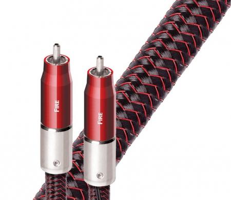 Cablu audio 2RCA - 2RCA AudioQuest FIRE, DBS Carbon 72V inclus1