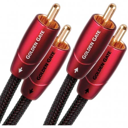 Cablu audio 2RCA - 2RCA AudioQuest Golden Gate0