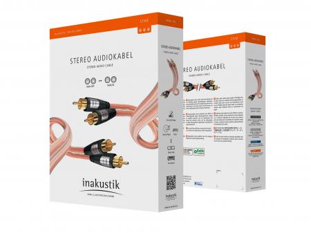 Cablu audio Interconect RCA Inakustik Star1