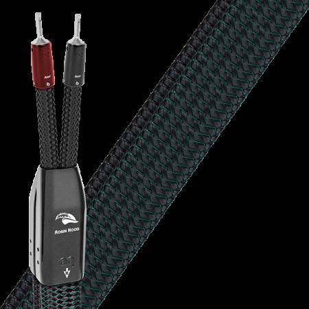 Cablu de boxe High-End Audioquest Robin Hood ZERO BiWire Combo (DBS Carbon)