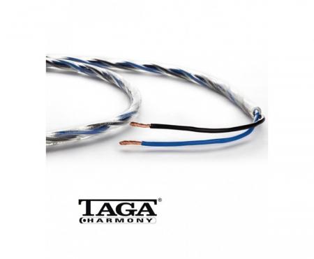 Cablu de boxe la metru Taga Harmony Azure 12/14 biwire0
