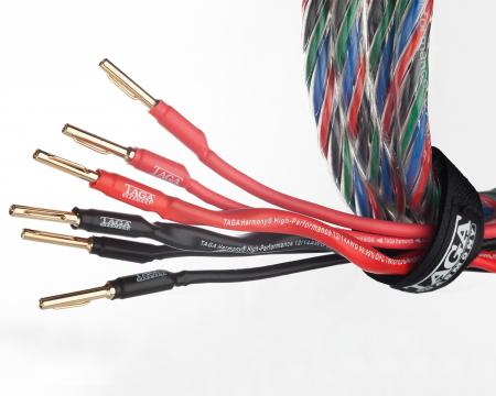Cablu de boxe Taga Harmony Azure 12/14 biwire3