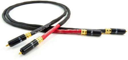 Cablu Interconect Tellurium Q Ultra Black II RCA0