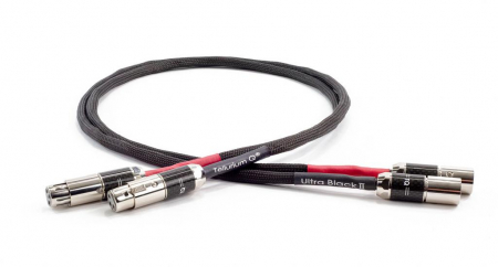 Cablu Interconect XLR Tellurium Q Ultra Black II0