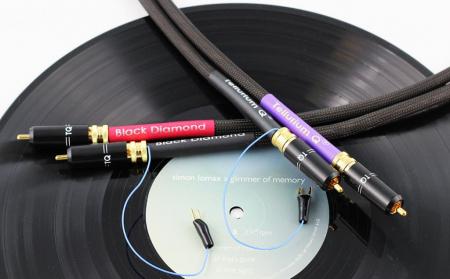 Cablu Phono RCA - RCA Tellurium Black Diamond TT RCA4