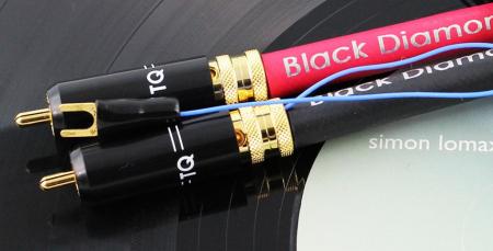 Cablu Phono RCA - RCA Tellurium Black Diamond TT RCA3