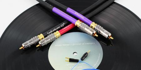 Cablu Phono RCA - RCA Tellurium Q Black Turntable RCA3