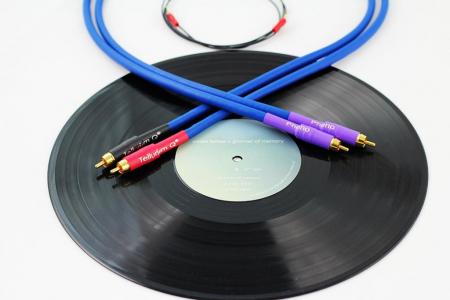 Cablu Phono RCA - RCA Tellurium Q Blue Turntable RCA0