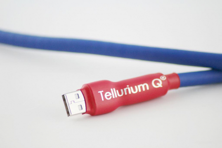 Cablu USB A-B Tellurium Q Blue0