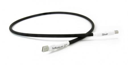 Cablu USB A-B Tellurium Q Silver3