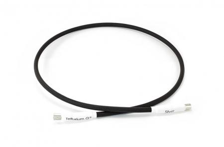 Cablu USB A-B Tellurium Q Silver0