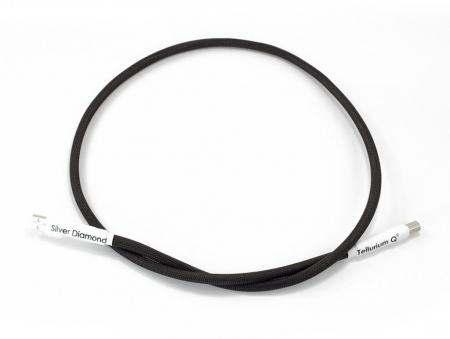 Cablu USB A-B Tellurium Q Silver Diamond0