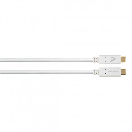 Cablu USB-C Avinity USB-C tata - USB-C tata, USB 3.1 Gen 2, eMarker, 10 Gbit/s, 5A [0]