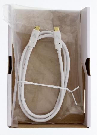 Cablu USB-C Avinity USB-C tata - USB-C tata, USB 3.1 Gen 2, eMarker, 10 Gbit/s, 5A [2]
