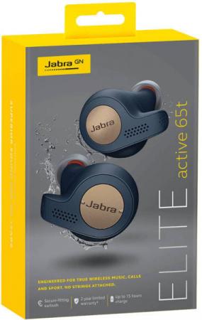 Casti In-Ear bluetooth Jabra Elite65t Active3