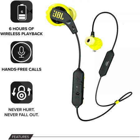 Casti In Ear wireless sport JBL Endurance RUN BT2