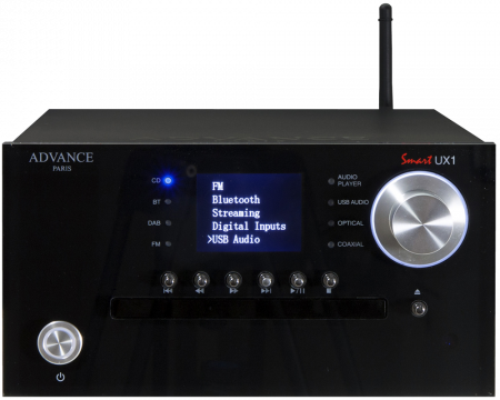 CD DAC Preamplificator Streamer Advance Acoustic UX1