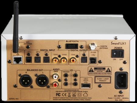 CD DAC Preamplificator Streamer Advance Paris UX11