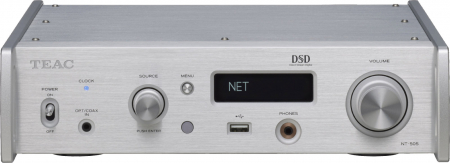 DAC si Network player Teac NT-505