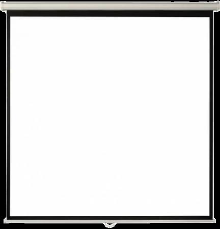 Ecran proiectie perete/tavan 180 x 180 cm0