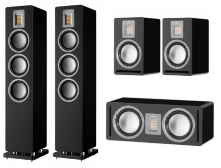 Pachet Boxe Audiovector QR 5 + Boxe Audiovector QR 1 + Boxa Audiovector QR C
