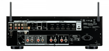 Receiver AV Stereo Denon DRA-800H1