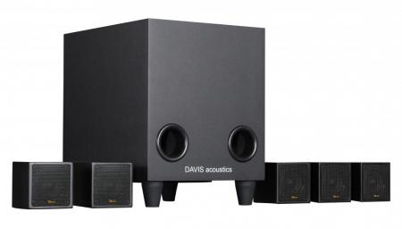 Sistem de Boxe 5.1 Davis Acoustics Cinestyle3