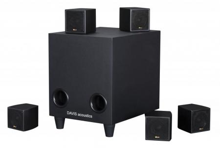 Sistem de Boxe 5.1 Davis Acoustics Cinestyle1