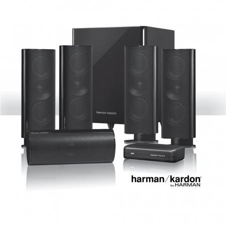 Sistem de boxe 5.1 Harman Kardon HKTS 65BQ0