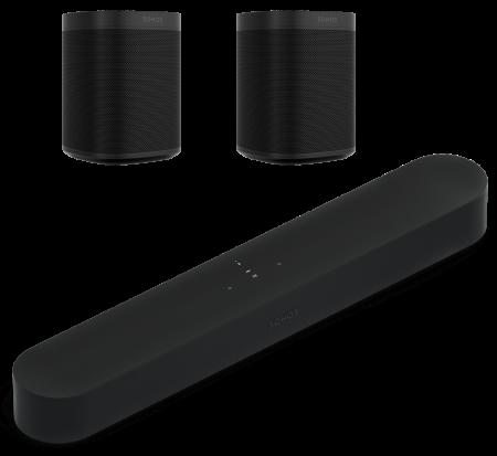 Sonos Beam + 2 x Sonos One SL [1]